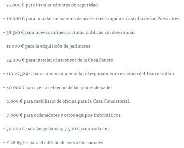 inversiones Astorga 2016